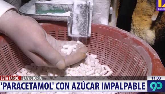 Los sujetos pretendían enviar a Puno 40 kilos de paracetamol bamba. (Latina)