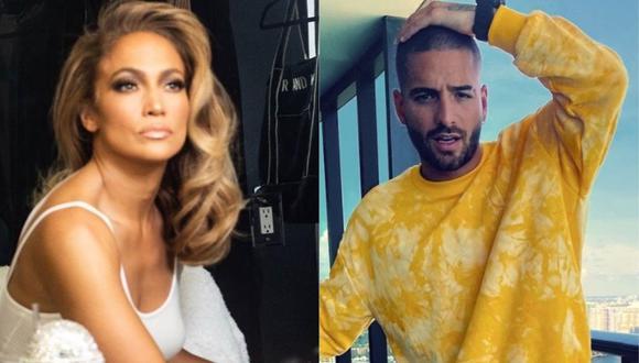 Jennifer Lopez y Maluma emocionan a sus fans tras protagonizar portada de la revista Billboard. (Foto: @jlo/@Maluma)