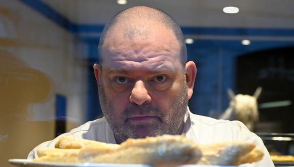 Stéphane Ravacley, panadero que luchó para regularizar la situación migratoria de su ayudante en Francia. (Foto: AFP)