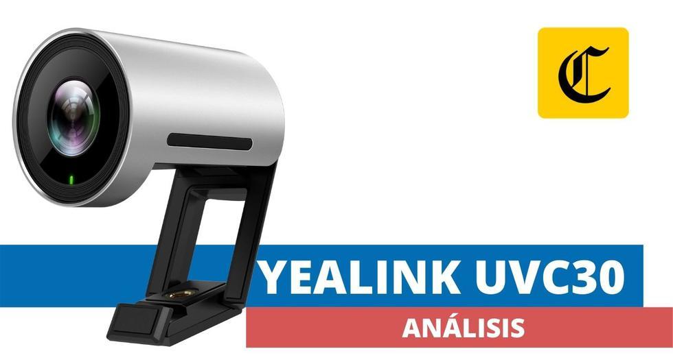 La Yealink UVC30 es una webcam de gran desempeño que ingresa al mercado local para atender las necesidades de quienes realizan teletrabajo y educación virtual. (El Comercio)