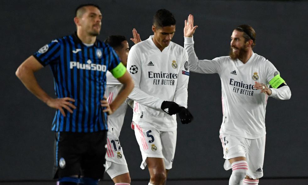 Real Madrid clasificó a los cuartos de final de la UEFA Champions League tras eliminar a Atalanta | FOTO: AFP