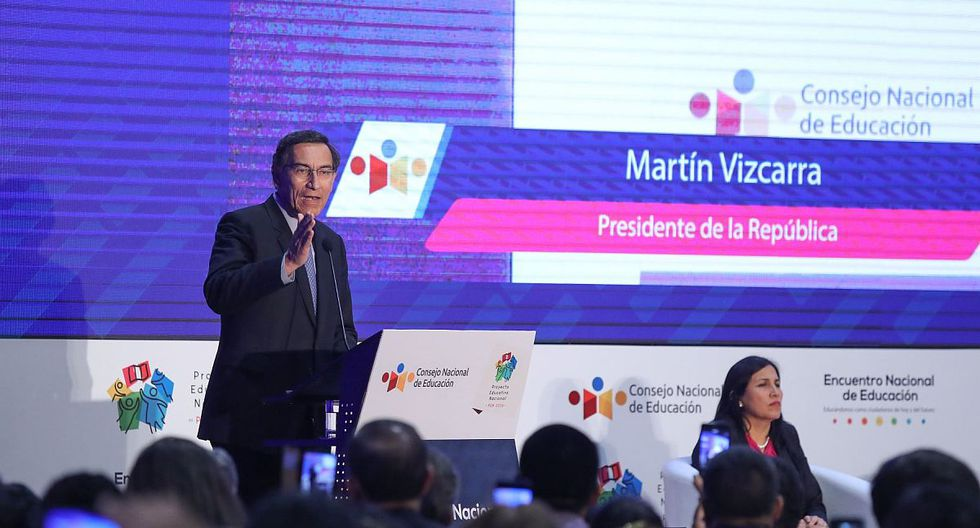 Martín Vizcarra pidió a las alcaldesas de todo el Perú que trabajen junto al Ejecutivo en favor de la ciudadanía. (Foto: Difusión)