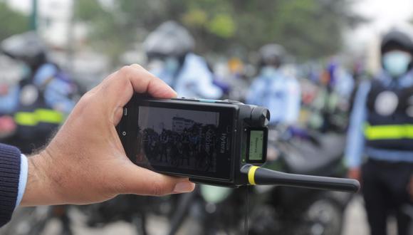 San Isidro presenta radios multi tecnología portátiles para visualizar intervenciones en tiempo real. (Foto: Municipalidad de San Isidro)