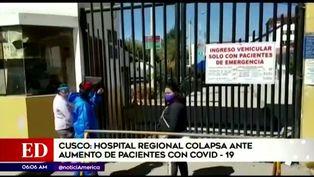 Cusco: Hospital de Cusco colapsa ante el incremento de casos positivos por COVID-19