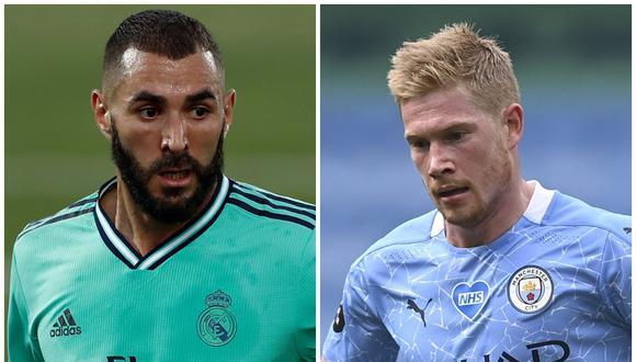 Real Madrid vs. Manchester City: alineaciones confirmadas para el duelo por Champions League