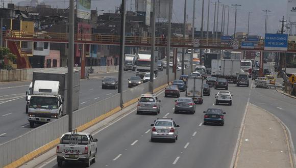 El paso de vehículos será restringido a la altura de óvalo Caquetá-Zarumilla de 11 p.m. a 5 a.m.