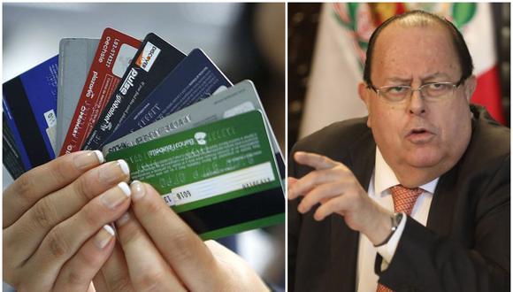Julio Velarde se pronunció respecto al proyecto de ley del Congreso que busca condonar las deudas del sistema financiero. (Composición: El Comercio)
