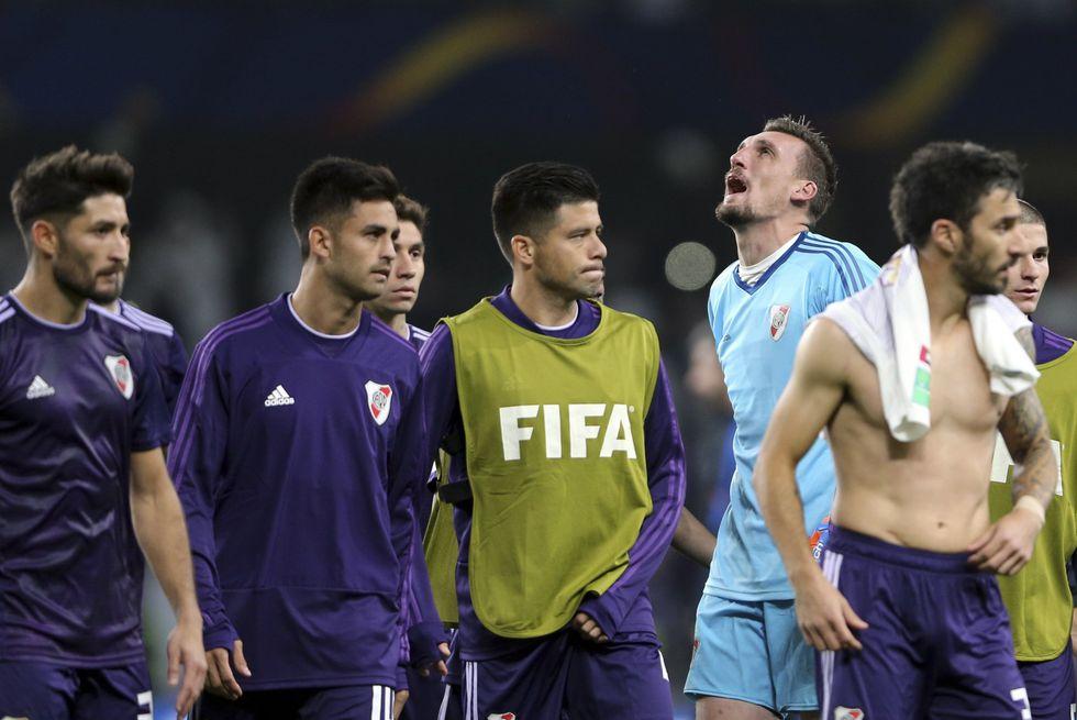River Plate fue sorprendido por Al Ain y quedó fuera de la final del Mundial de Clubes. (Foto: Reuters)