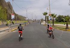 Alcalde de Magdalena plantea que la Costa Verde sea exclusiva para peatones y ciclistas los fines de semana