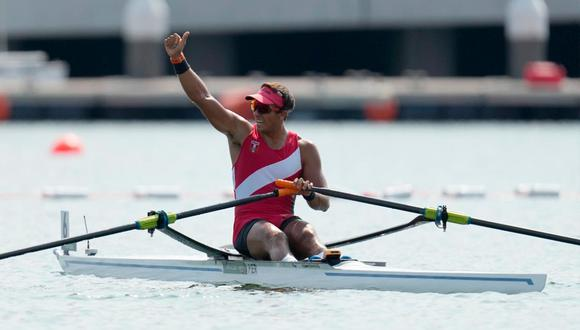 Álvaro Torres ganó la semifinal C/D en remo en los Juegos Olímpicos Tokio 2020