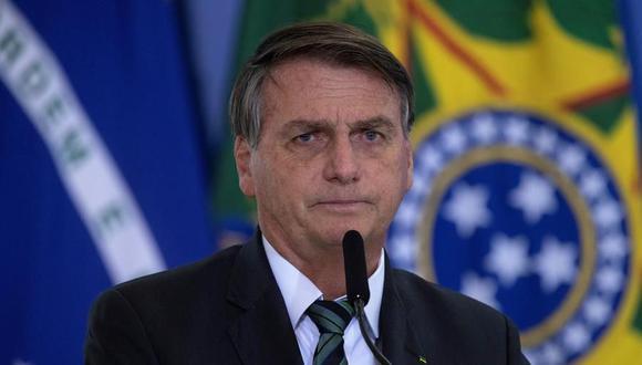 El presidente de Brasil, Jair Bolsonaro, es cuestionado por su mal manejo de la pandemia de coronavirus. (EFE/ Joédson Alves).