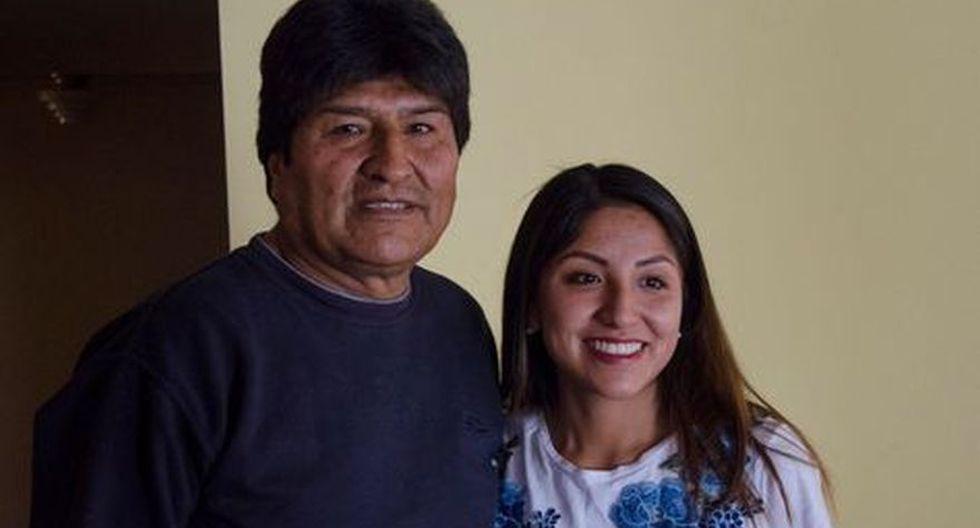 Gobierno de Bolivia autoriza salvoconducto para la hija de Evo Morales. (Foto: Twitter @evaliz18)