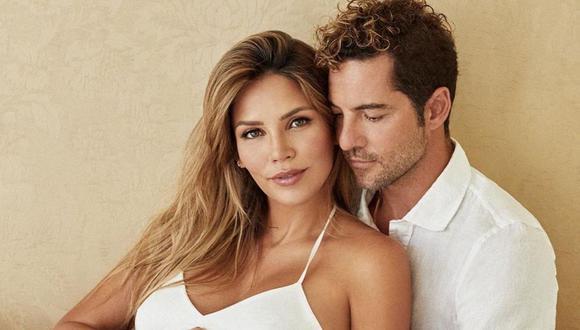 David Bisbal, acompañado de su actual pareja, Rosanna Zanetti. (Foto: Instagram / @davidbisbal).