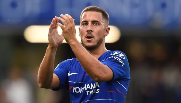 Eden Hazard continuará vistiendo la camiseta de Chelsea esta temporada. (Foto: AFP).