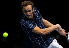 ATP Finals 2020 : Daniil Medvedev venció a Rafael Nadal y pasó a la final