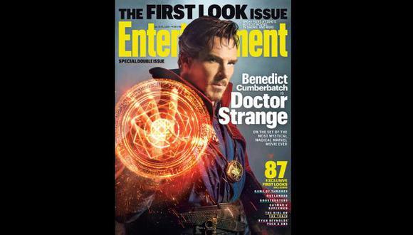 Primera imagen de Benedict Cumberbatch como Doctor Strange