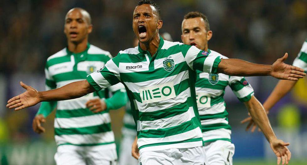 Nani se hizo conocido en el Sporting de Lisboa | Foto: Agencias