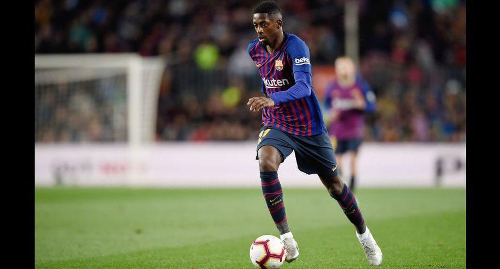 Barcelona: Ousmane Dembélé. (Foto: AFP)