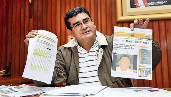 Áncash: se investiga corrupción en todas las entidades públicas