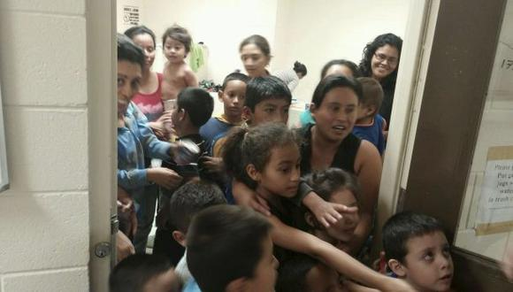 Casi todos los menores ilegales están con su familia en EE.UU.
