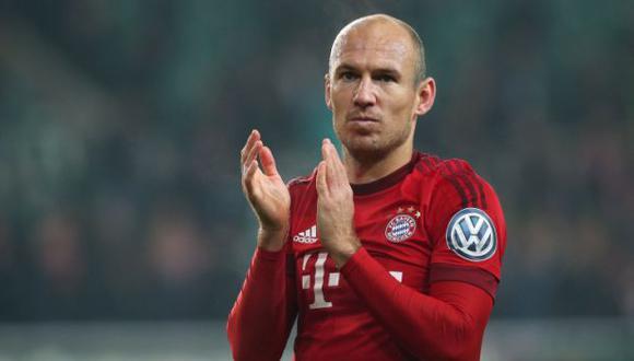 "Arjen Robben: ""Ir a China es asumir que mi carrera acabó"""