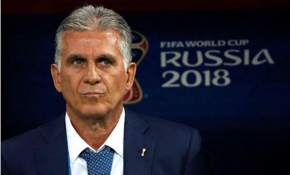 Carlos Queiroz es el principal candidato para asumir el cargo de director técnico de la selección Colombia. El estratega luso actualmente trabaja con el plantel de Irán. (Foto: AP)