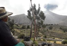 Erupción del volcán Ubinas: 350 familias afectadas serán evacuadas hacia Anascapa