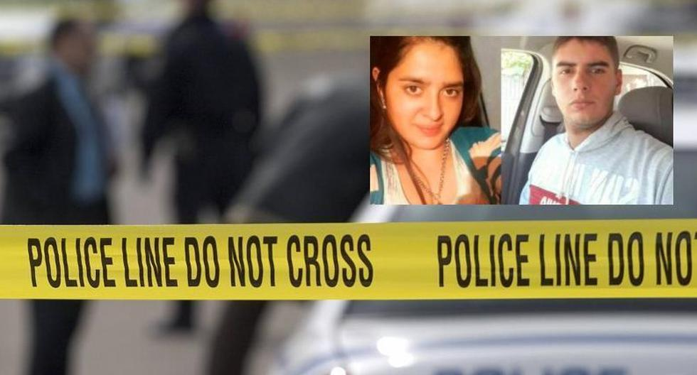Police chased his ex-girlfriend with his patrol car and killed her in front of her husband