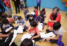 Ministerio de Cultura organizó taller para incentivar el arte en los niños