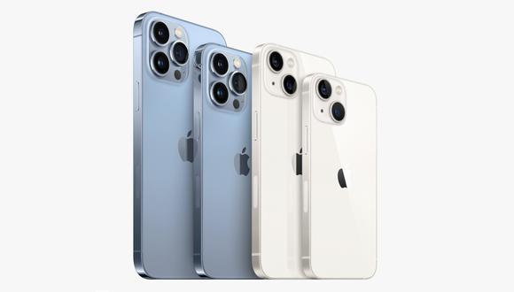 iPhone 13. (Imagen: Apple)