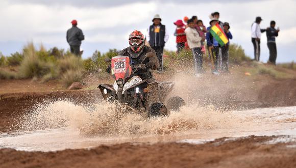 Rómulo Airaldi fue el mejor peruano en quads de la octava etapa del Dakar 2018. (Foto: ITEA Photo)