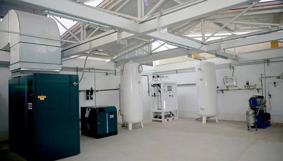 Las plantas de oxígeno serán distribuidas en diversos hospitales del país. (Imagen referencial/Oxigena 47)