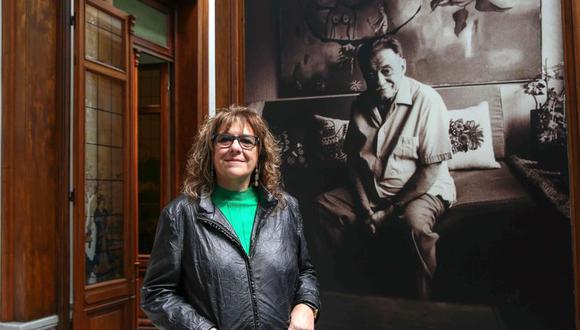 """Hortensia Campanella, presidenta de la Fundación Benedetti y autora del libro """"Mario Benedetti. Un mito discretísimo"""". (Foto: EFE)"""