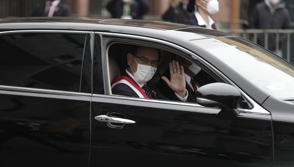 """El presidente Martín Vizcarra ha convocado a las fuerzas políticas suscribir un """"Pacto Perú"""" de políticas públicas en el contexto de la pandemia y las elecciones 2021. (Foto: Presidencia)"""