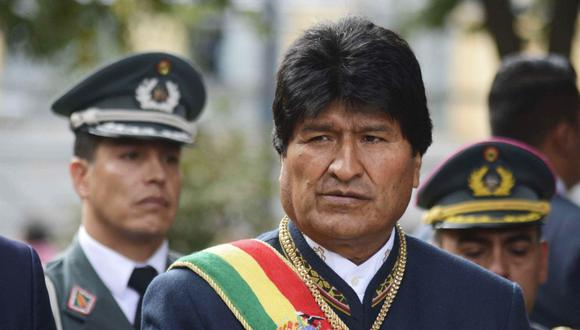 Evo Morales, presidente de Bolivia. (Foto: EFE)