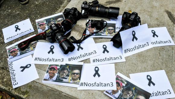 La situación de los periodistas en Latinoamérica es alarmante. (Foto: AFP/Luis Acosta)