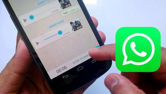 ¿Te has dado cuenta qué es lo que hace WhatsApp con tus notas de voz? Entérate ahora mismo. (Foto: WhatsApp)