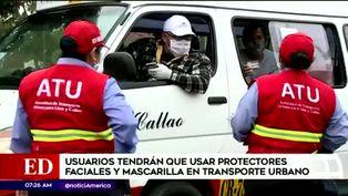 Coronavirus en Perú: será obligatorio el uso de protectores faciales en transporte público
