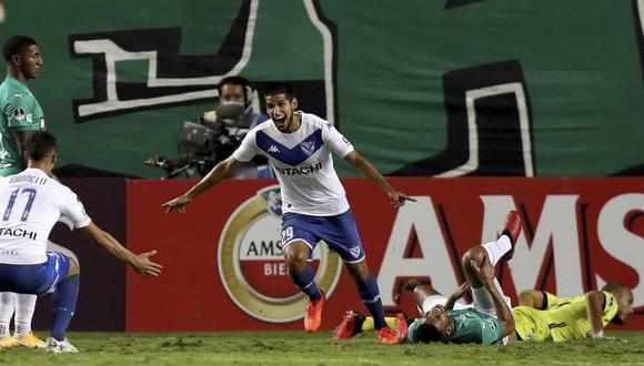Luis Abram en el once de la semana para la Copa Sudamericana. (Foto: AP)