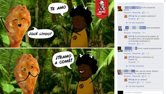 KFC es blanco de críticas por imagen racista en Facebook