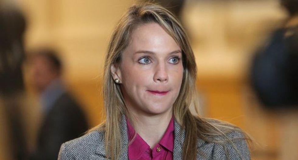 Luciana León ha sido señalada como pieza clave de la organización criminal Los Intocables Ediles. (Foto: GEC)