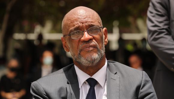 El primer ministro de Haití, Ariel Henry.  EFE