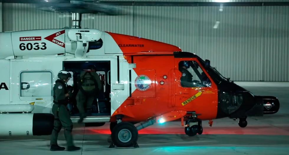 La Guardia Costera de EEUU rescató a varias víctimas del huracán Dorian en Bahamas. (Foto:&nbsp;U.S. Coast Guard Southeast)<br>