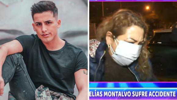 """Elías Montalvo sufrió un fuerte accidente en """"Esto es guerra"""". (Foto: Instagram / captura ATV)."""