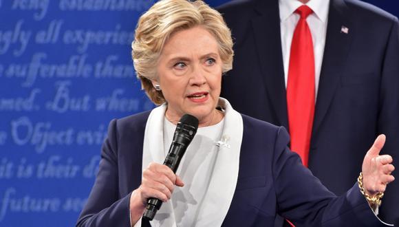 La exsecretaria de Estado estadounidense, también reconoció que Weinstein financió campañas de varios partidos demócratas. (Foto: AFP)