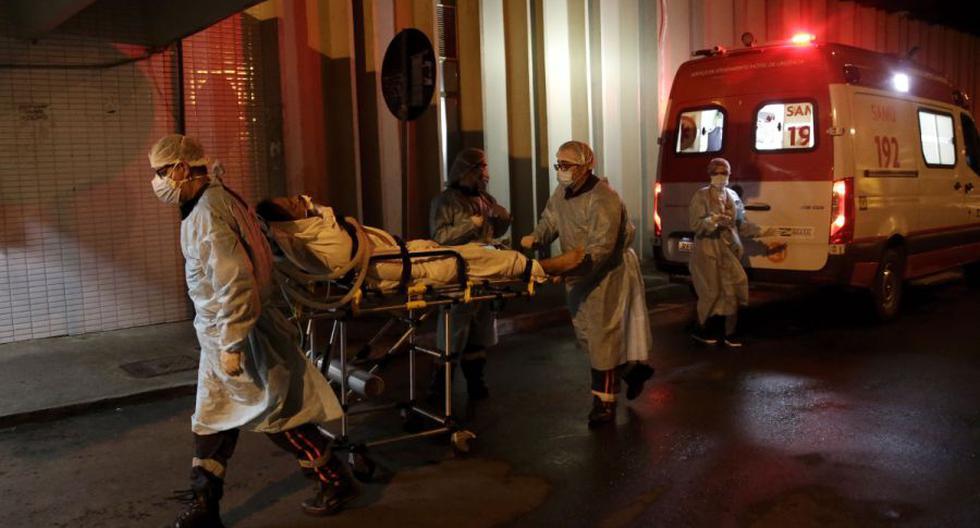 Coronavirus en Brasil | Últimas noticias | Último minuto: reporte de infectados y muertos por COVID-19 hoy, lunes 05 de abril del 2021. (Foto: AP /Eraldo Peres).AP Photo/Eraldo Peres).