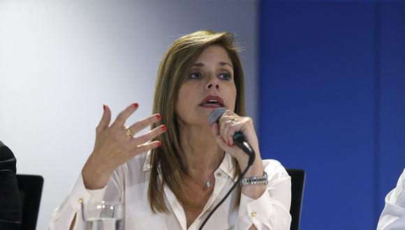 """Mercedes Araoz recalcó que el cambio en FP aún no empieza puesto que """"sus discursos todavía no reconocen sus faltas"""" y """"dicen que la guerra la han hecho otros"""". (Foto: Archivo El Comercio)"""