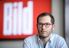 """Despiden al director de Bild por su """"comportamiento incorrecto"""" con otra periodista del medio más leído de Alemania"""
