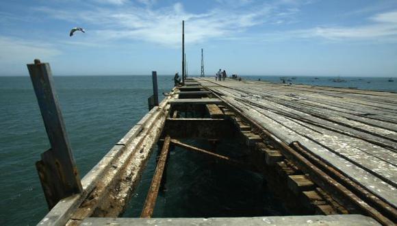 Muelle de Pacasmayo colapsó por oleaje anómalo [VIDEO]