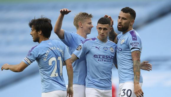Manchester City jugará Champions League. (Foto: AP)